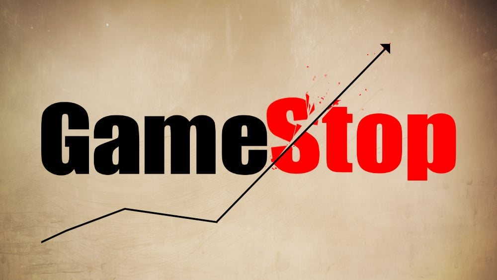 GameStop Logo & Share Climb Art