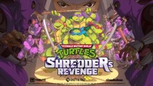Teenage Mutant Ninja Turtles: Shredder's Revenge Cover Art