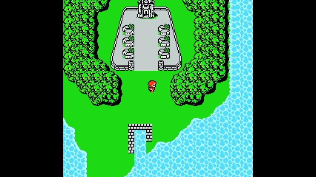 Original 1987 Final Fantasy 1 Gameplay Screenshot