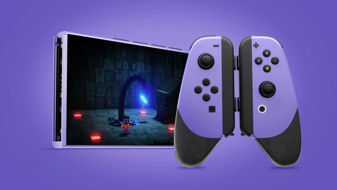 Super Nintendo Switch Concept Art - Promo View