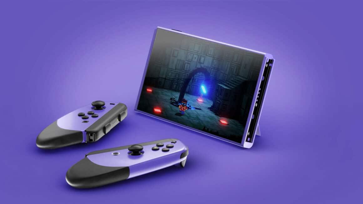 Super Nintendo Switch Concept Art - Split Joy-cons