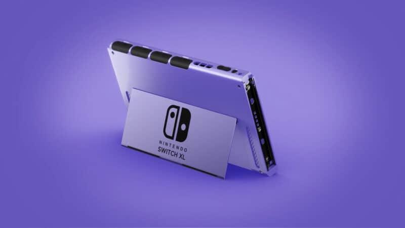 Super Nintendo Switch Concept Art - Dock View
