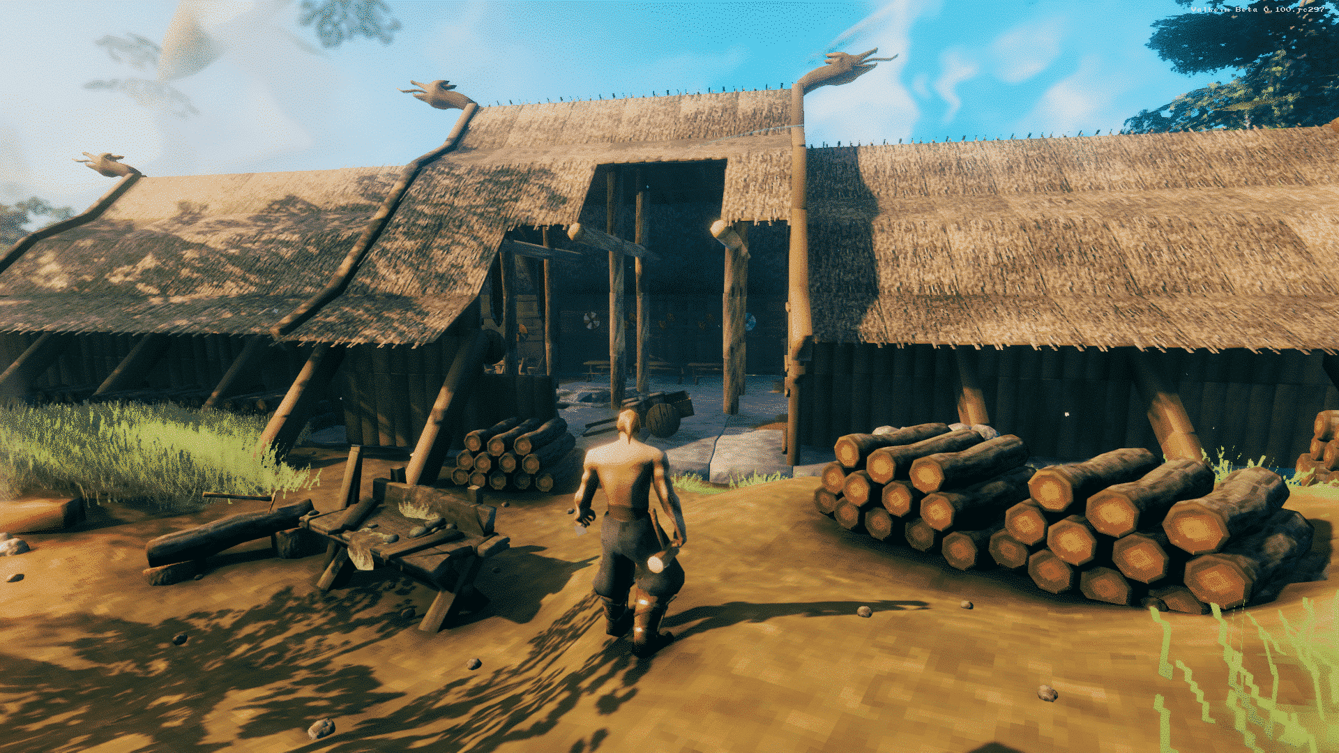 Valheim Screenshot - Logs