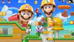 Super Mario Maker 2 Cover Art