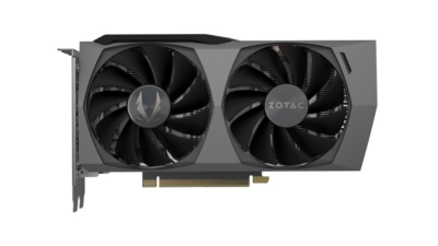 ZOTAC GAMING GeForce RTX 3060 Ti Twin Edge OC Fan View