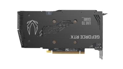 ZOTAC GAMING GeForce RTX 3060 Ti Twin Edge OC Back View