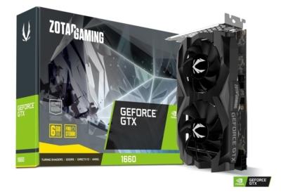 ZOTAC GAMING GeForce GTX 1660 Twin Fan Promo Box View