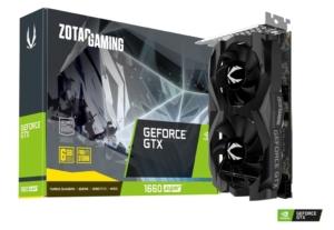 ZOTAC GAMING GeForce GTX 1660 SUPER Twin Fan Promo Box View