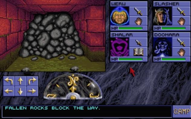 Eye of the Beholder Gameplay Screenshot