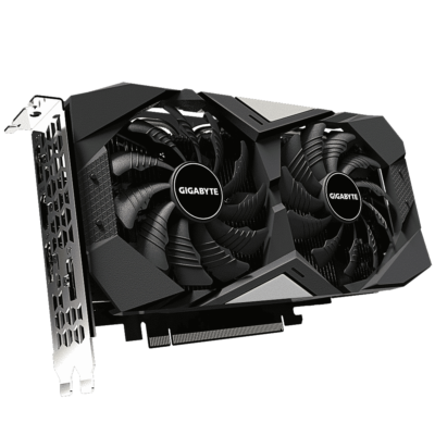 Gigabyte GeForce RTX 2060 OC 6G Angled View