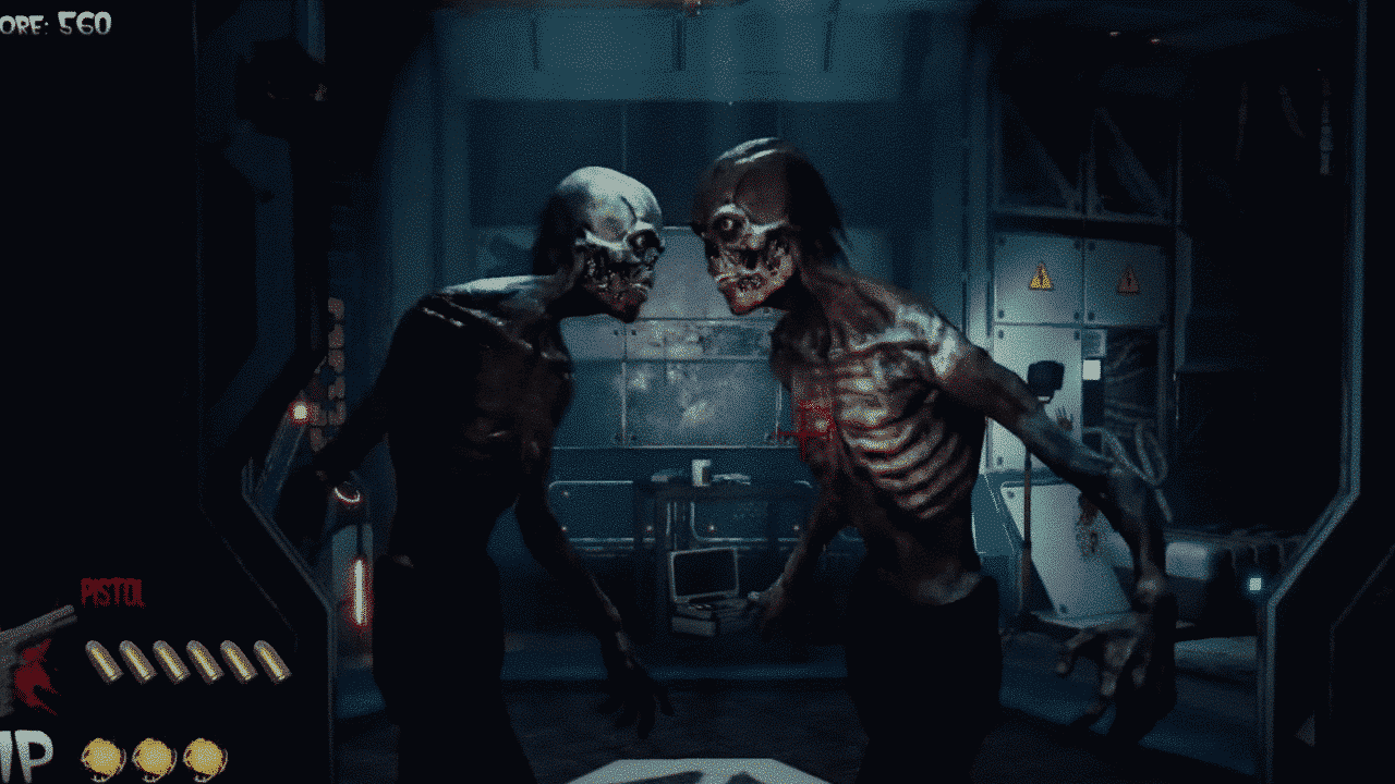 The House of the Dead Remake Screenshot