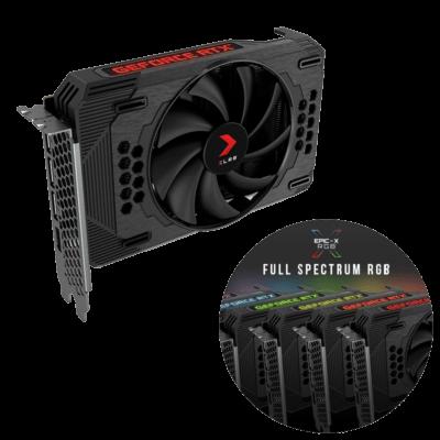 PNY GeForce RTX 3060 12GB XLR8 Gaming REVEL EPIC-X RGB Infographic