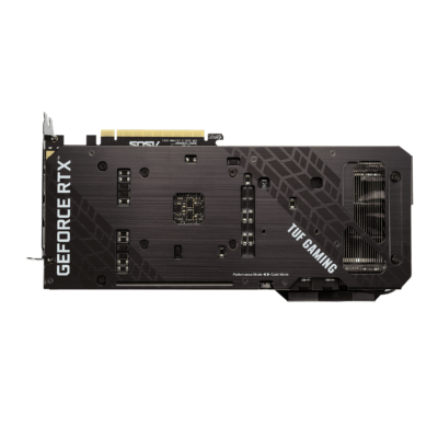 ASUS TUF GAMING GeForce RTX 3070 8G OC Backplate View