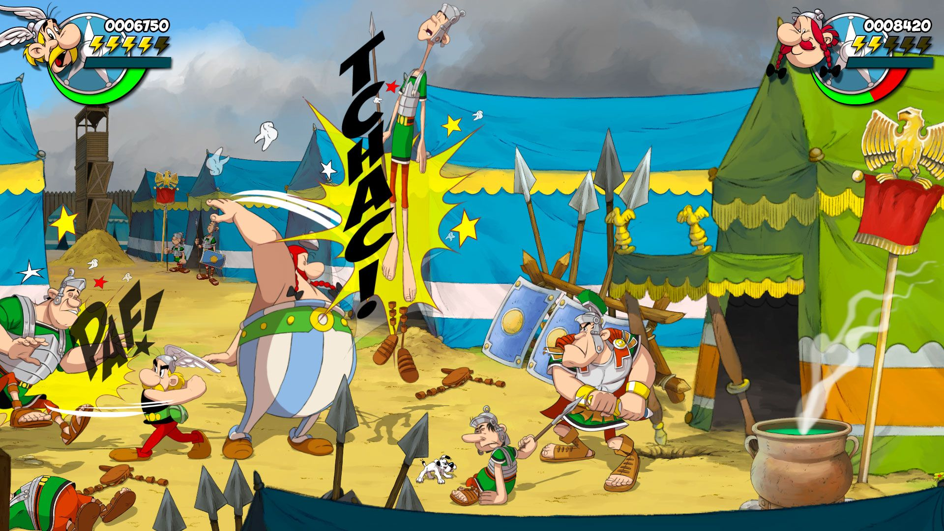 Asterix and Obelix: Slap them All! Artwork