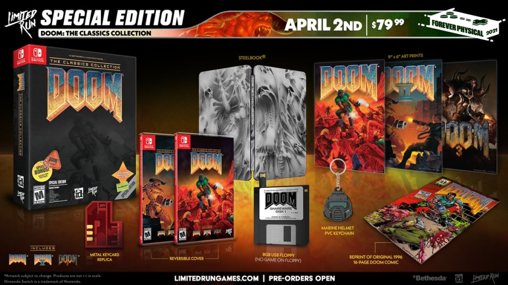 Limited Run Games DOOM Special Edition