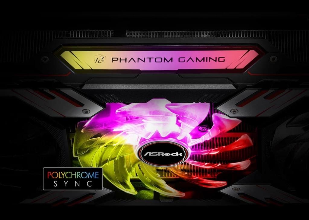 ASRock AMD Radeon RX 6800 XT Phantom Gaming Polychrome Sync
