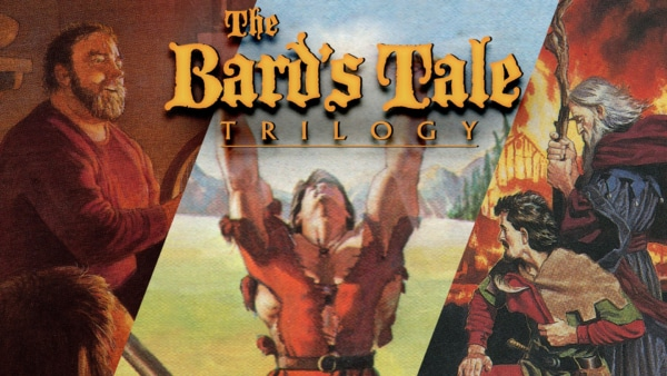 The Bard's Tale Trilogy Cover Art
