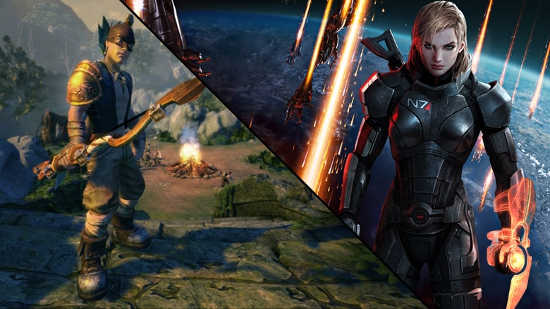 Fable & Mass Effect RPG Games Banner