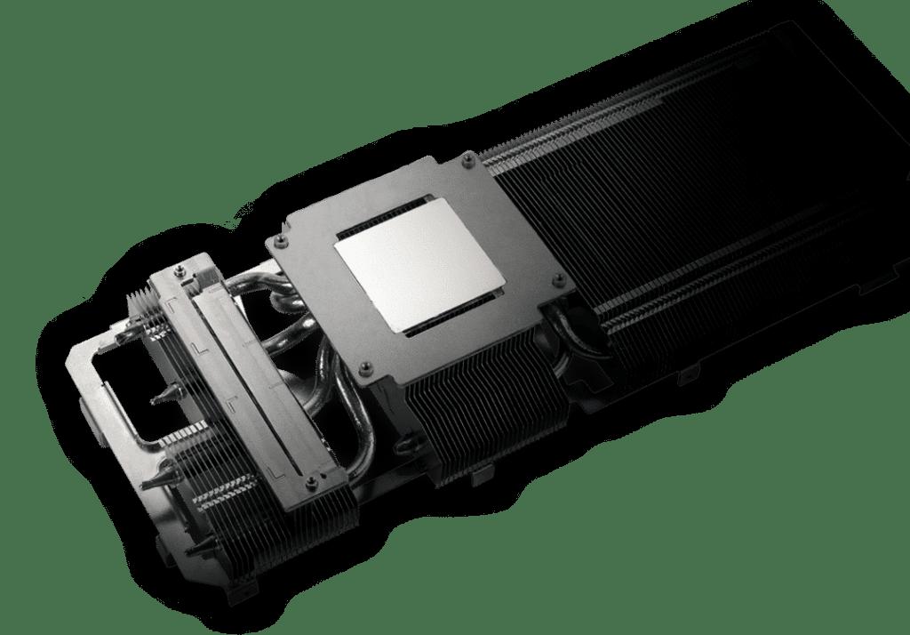 ASUS TUF GAMING GeForce RTX 3070 8G OC Heatsink Design