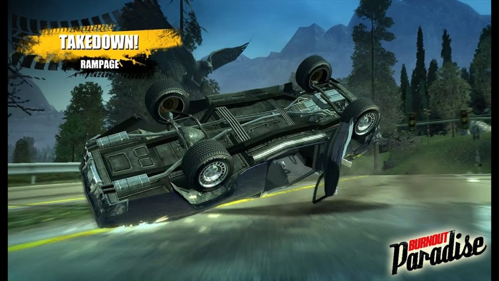 Burnout Paradise Crash Artwork
