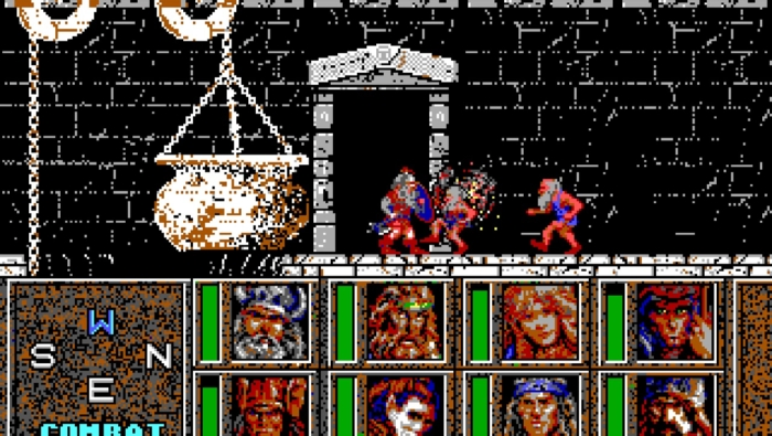 Heroes of the Lance Gameplay Screenshot