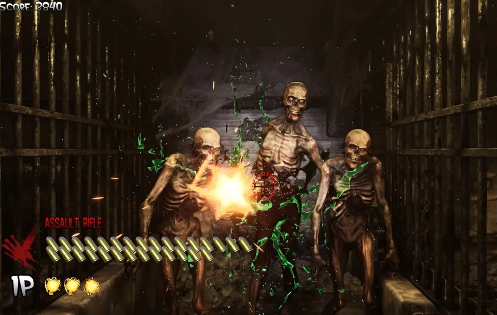 The House of the Dead Remake Gameplay Screenshot