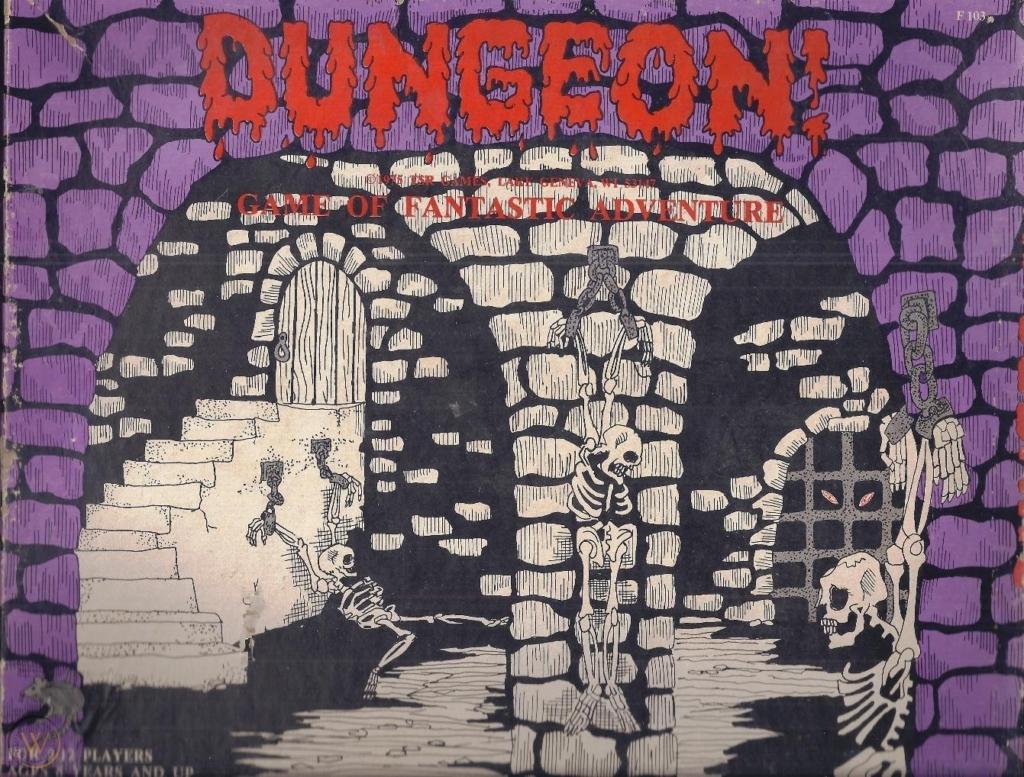 19765 Dungeon Logo Art