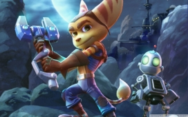 Ratchet and Clank Artwork