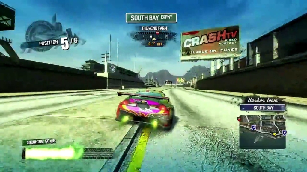 Burnout Paradise Gameplay Screenshot