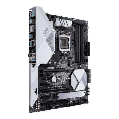 ASUS PRIME Z390-A Angled View 2