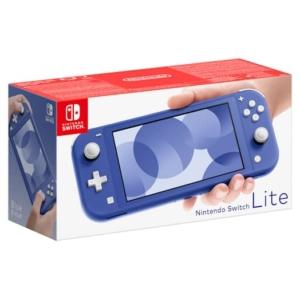 Nintendo Switch Lite Blue Box View
