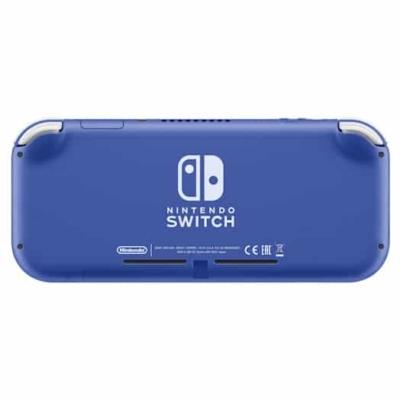 Nintendo Switch Lite Blue Back View