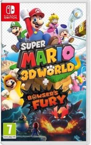 Super Mario 3D World + Bowser's Fury Box Image