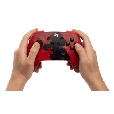 PowerA Mario Silhouette Wireless Controller Handheld View