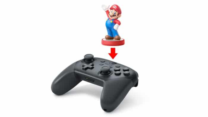 Nintendo Switch Pro Controller Amiibo View
