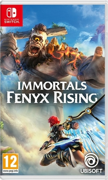 Immortals Fenyx Rising (Nintendo Switch) Box