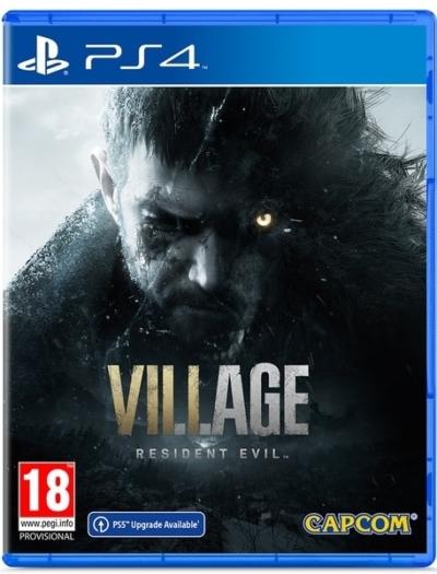 Resident Evil Village (PlayStation 4) Box