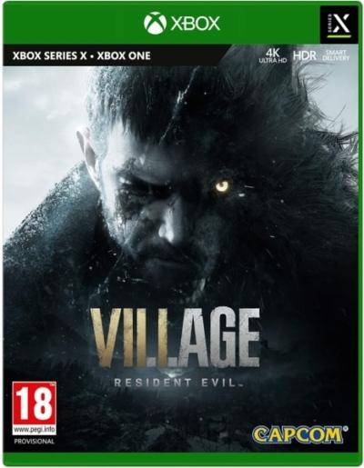 Resident Evil Village (Xbox Series X) Box
