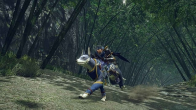 Monster Hunter Rise Gameplay Screenshot 1