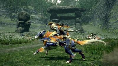 Monster Hunter Rise Gameplay Screenshot 4