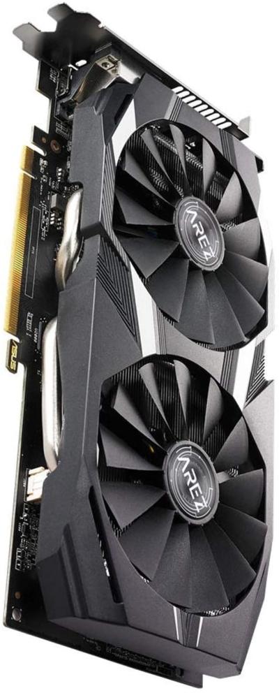 Asus Radeon RX 580 Dual 8GB OC Fan View