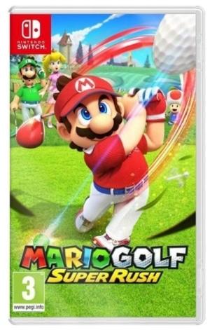 Mario Golf: Super Rush Box