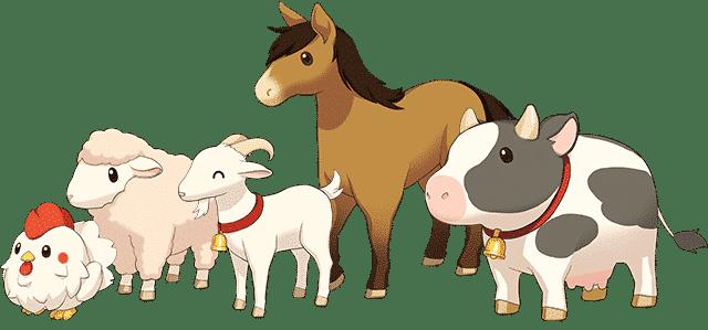 Harvest Moon: One World Animals