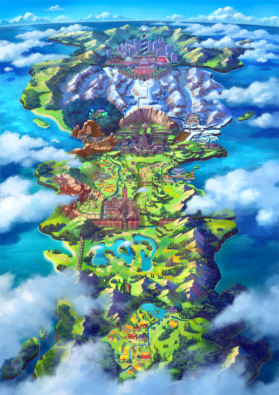 Pokémon Shield Word Scene