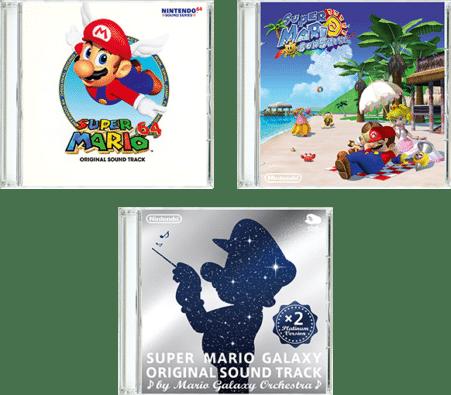 Super Mario 3D All-Stars Soundtracks