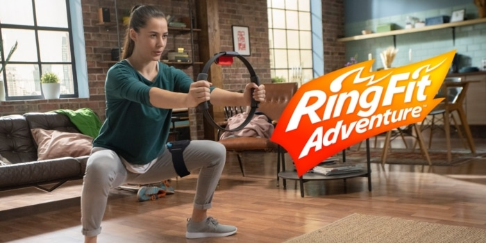Ring Fit Adventure Banner