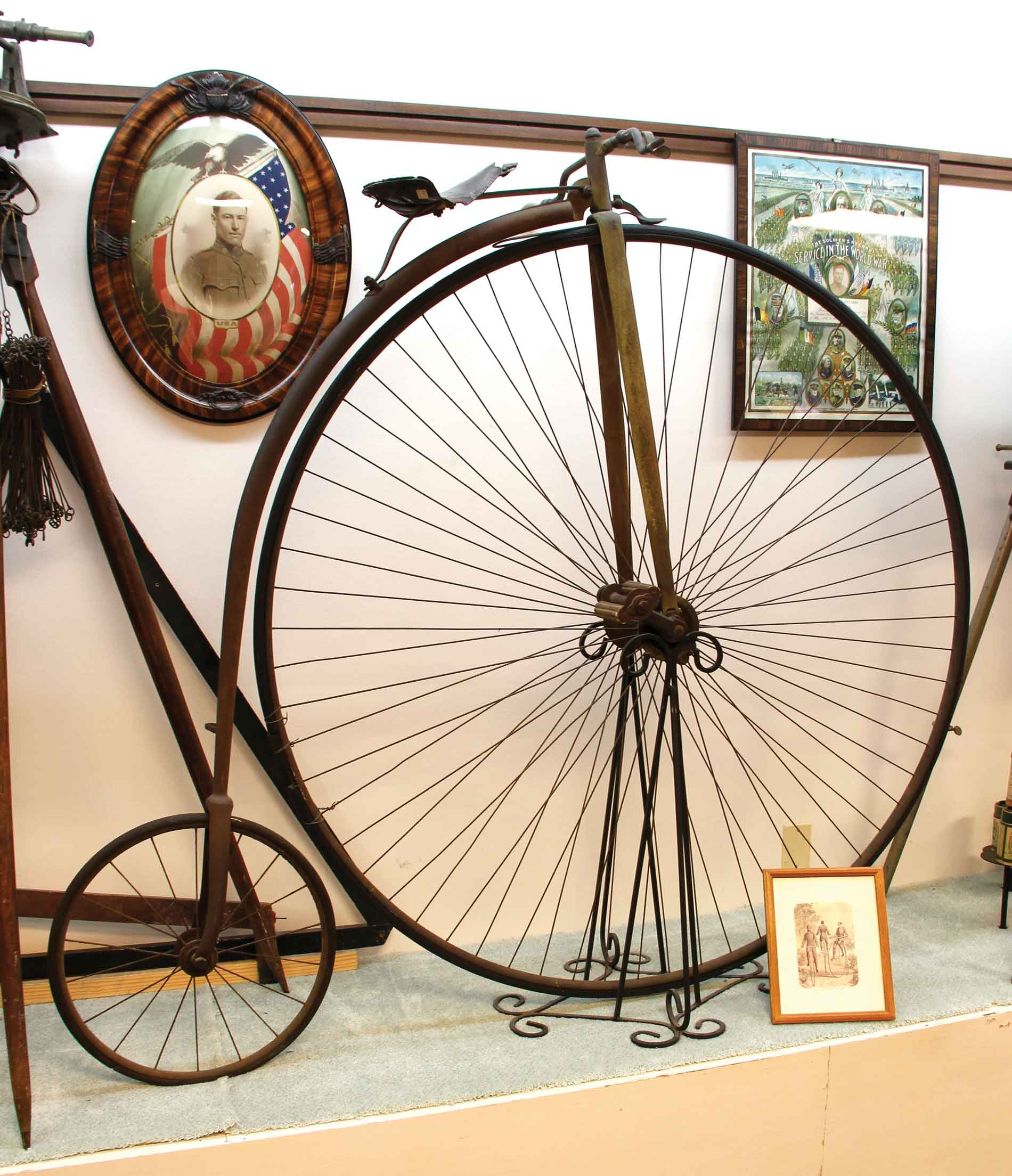 Penny Farthing in a Museum