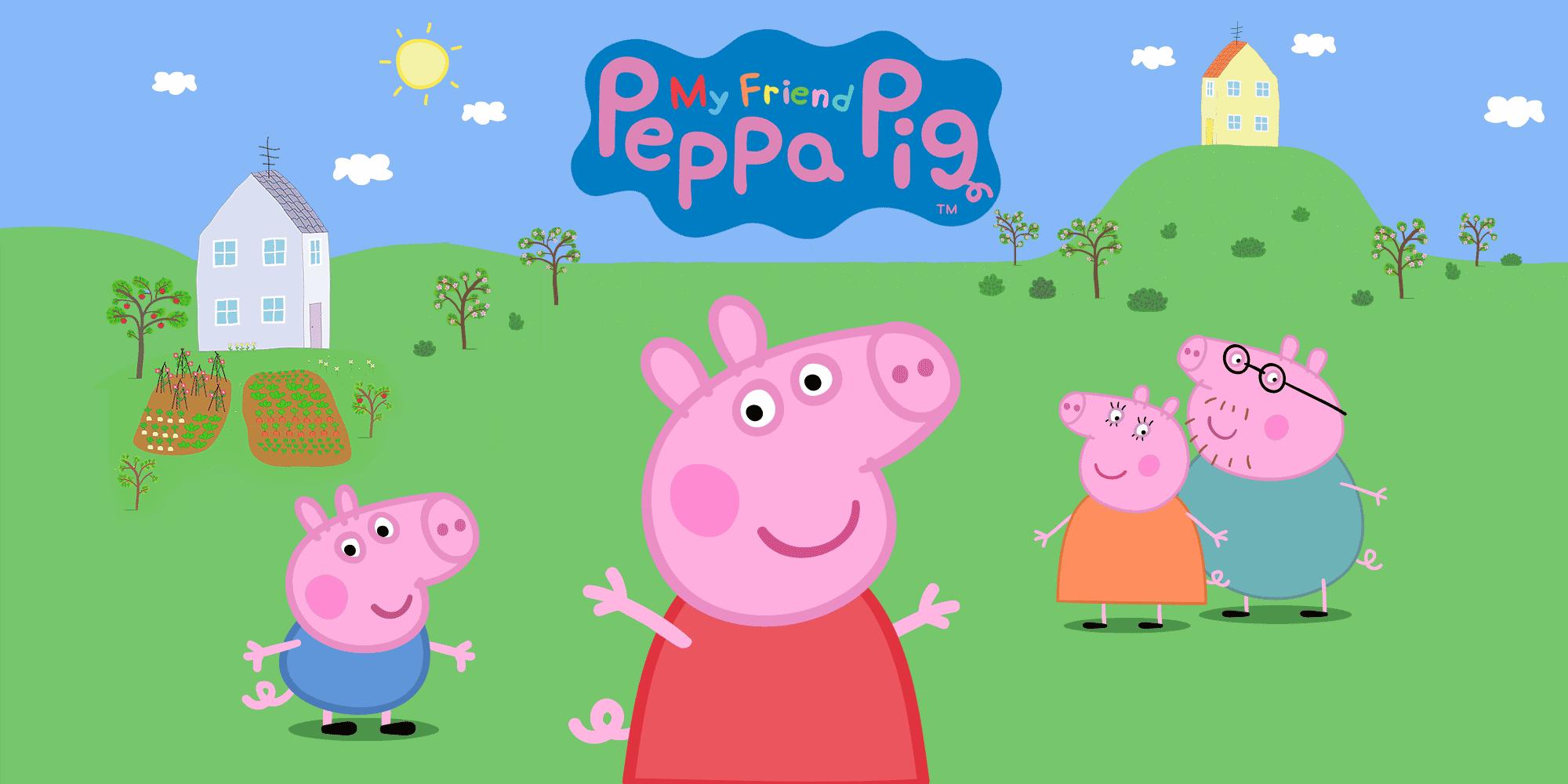 My Friend Peppa Pig Cover Art
