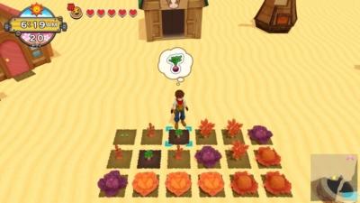Harvest Moon: One World Desert Farm