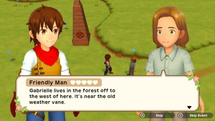 Harvest Moon: One World Interaction